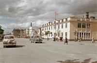 Горисполком на улице Ленина в г. Южно-Сахалинске