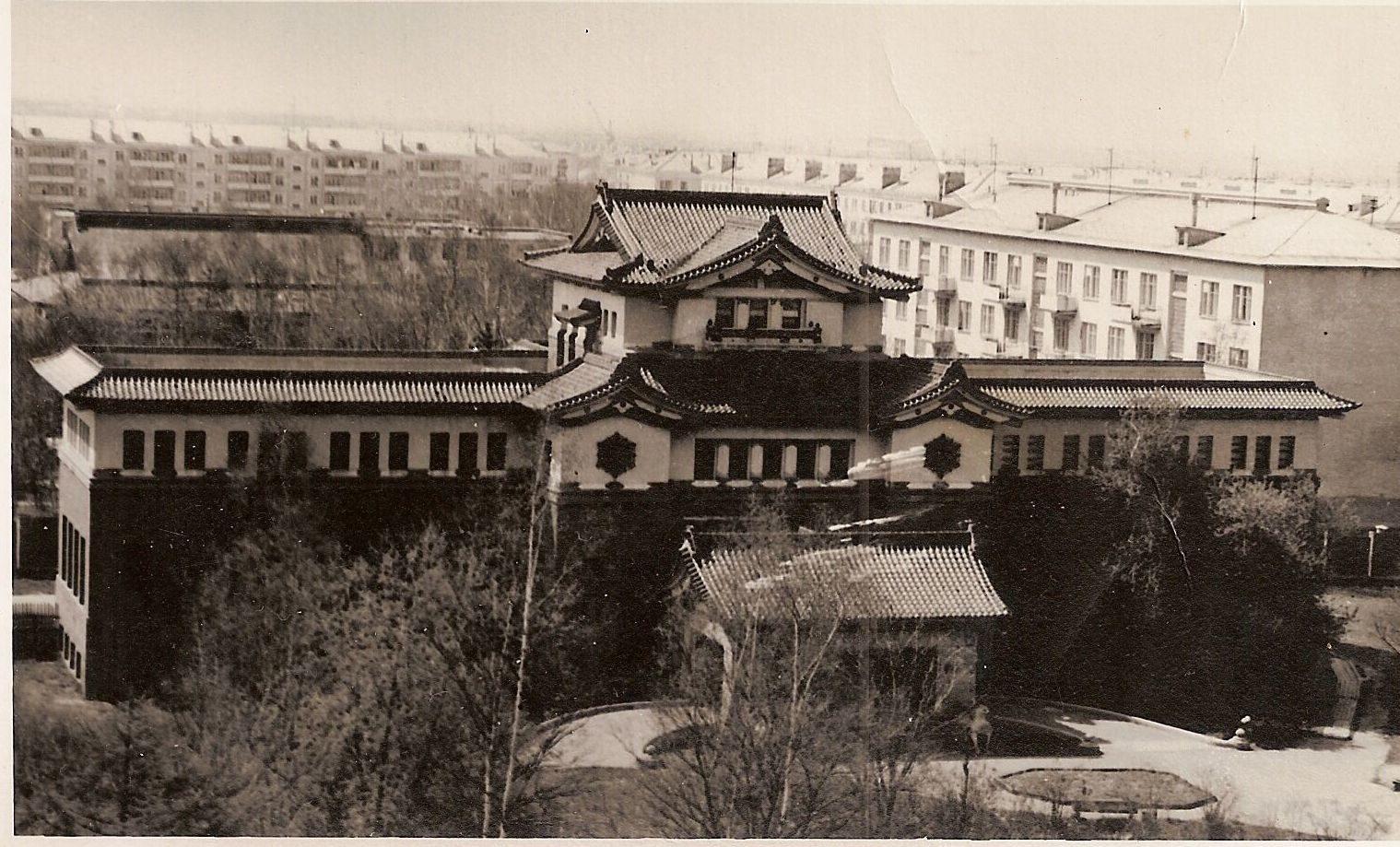 Сахалинский краеведческий музей в г. Южно-Сахалинске