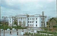 Здание Главсахрыбпрома на улице Сталина.