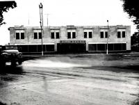 Здание железнодорожного вокзала в г. Долинске