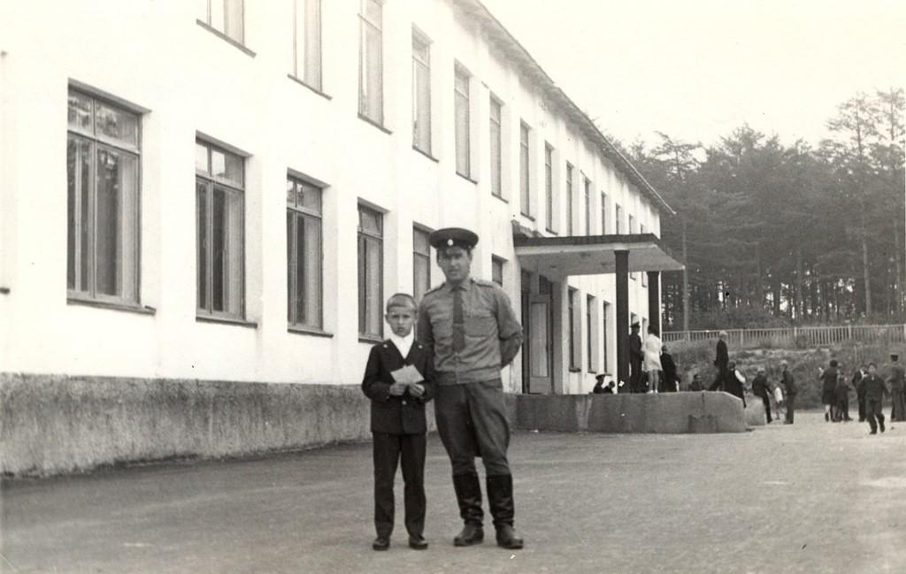 1 сентября в школе села Соловьевка