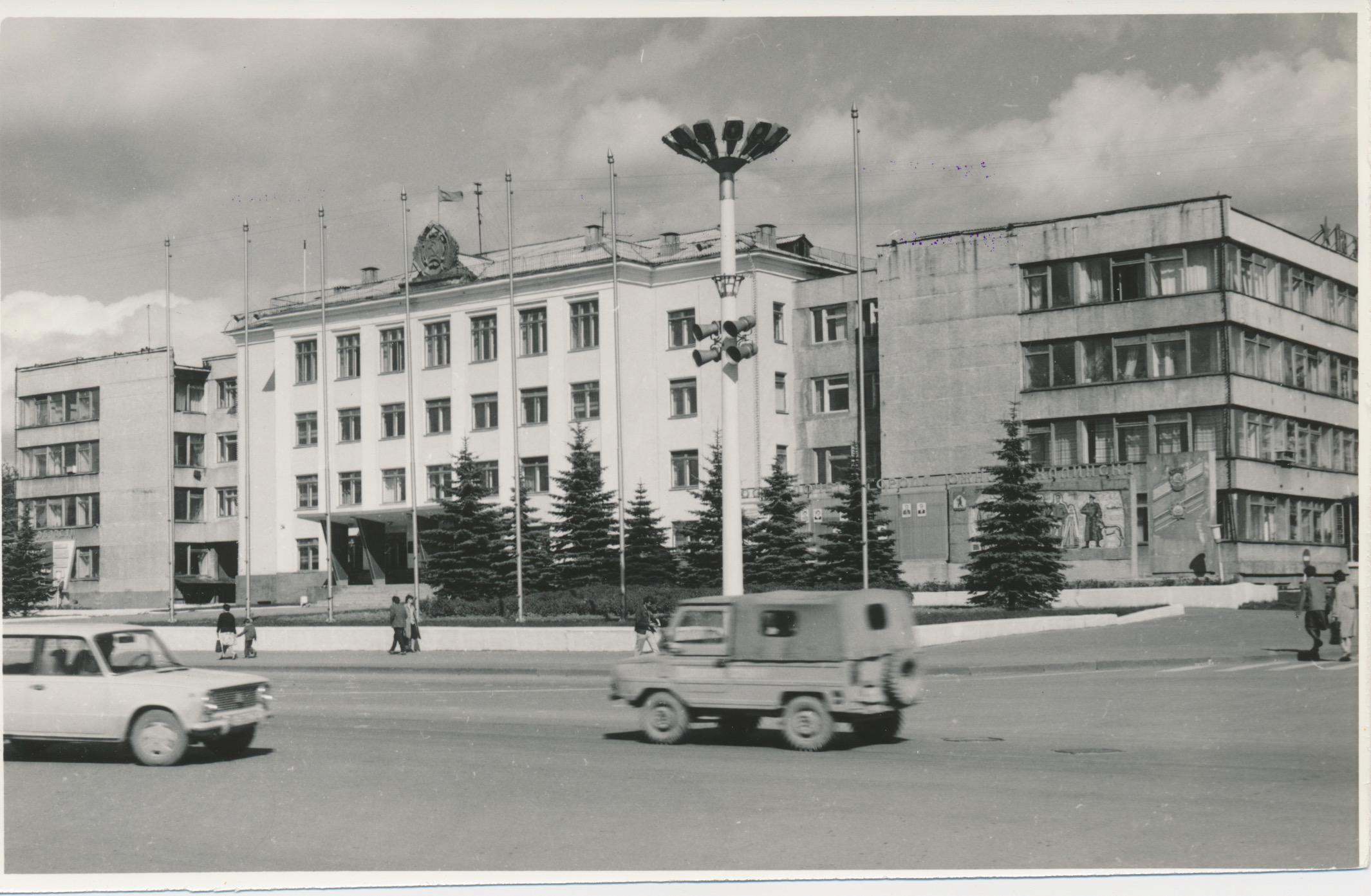 Горисполком и площадь В.И. Ленина