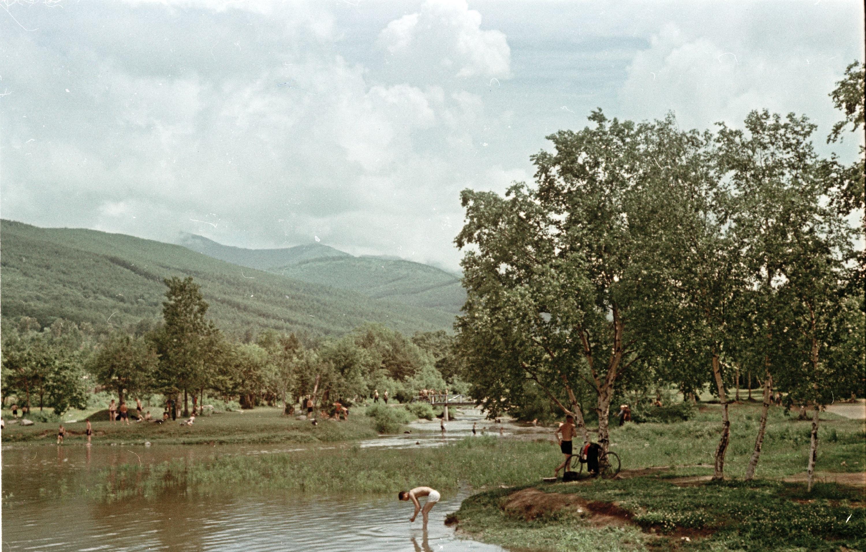 Серия снимков. Озеро Верхнее в городском парке КиО г. Южно-Сахалинска