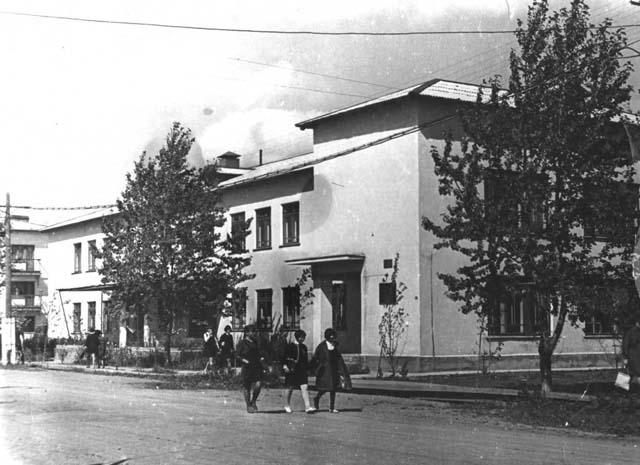 Поликлиника на улице Ленина г. Анива