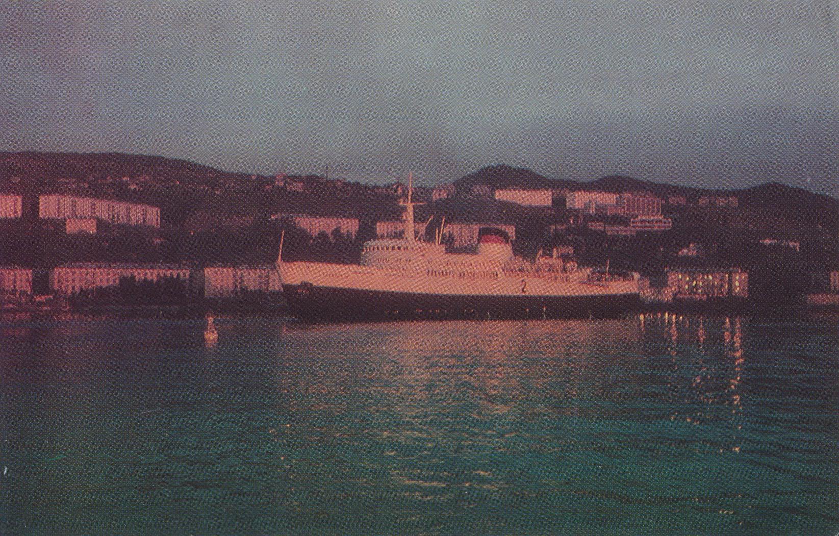 Паром Сахалин-2 в порту Холмск