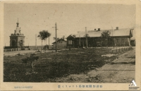 Вид на почтовый телеграф и Николаевскую часовню