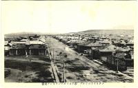 Центр поста Александровска во время японской оккупации