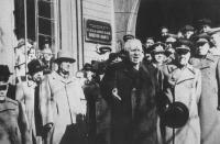 Выступление Н. С. Хрущева в г. Южно-Сахалинске