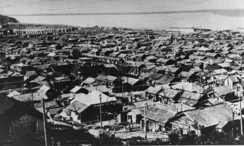 Панорама Сиритору (ныне г. Макаров). 1930-е гг.