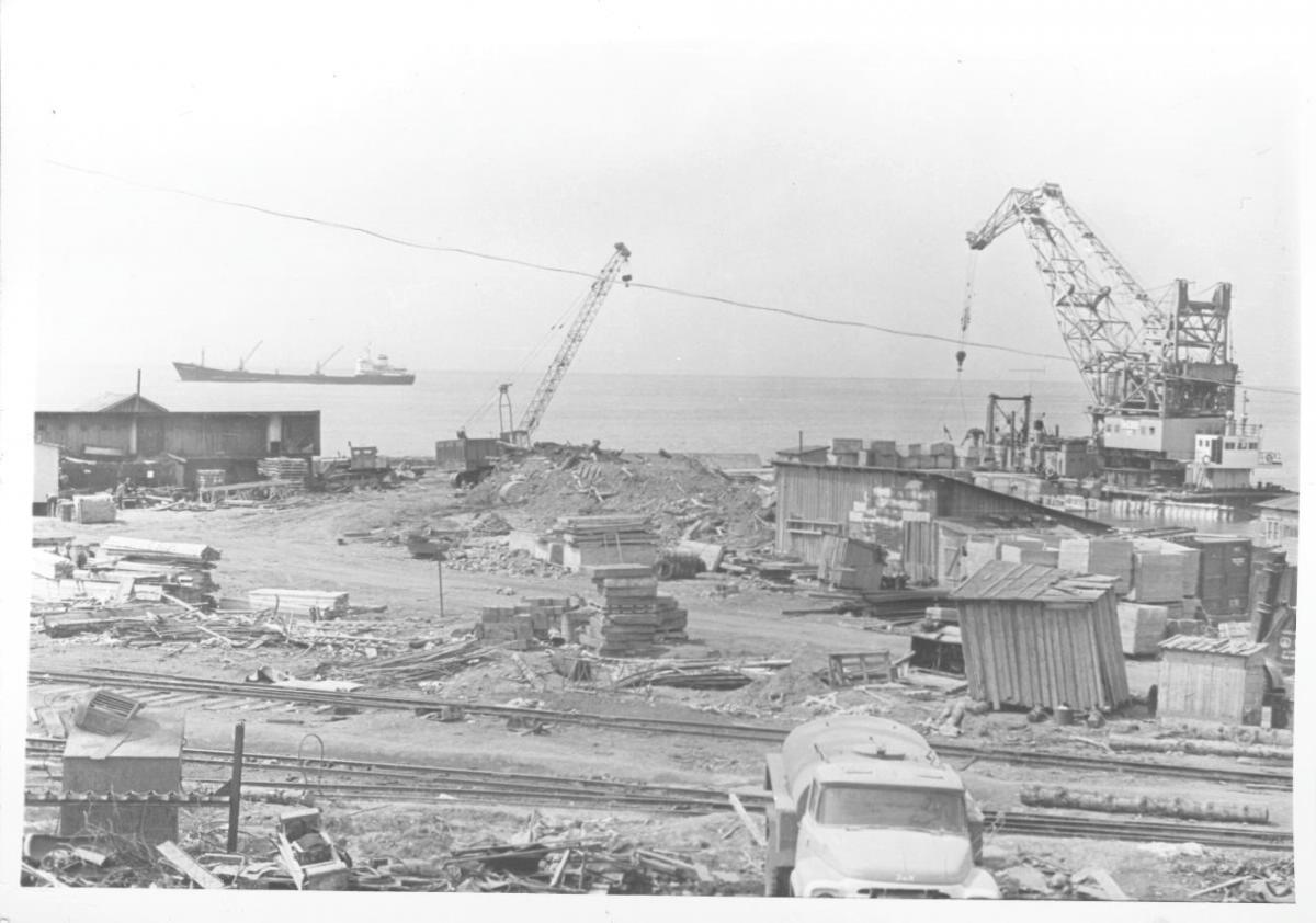 Углегорский порт. 1980-е гг