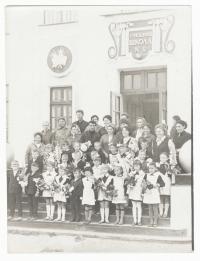 Школа порта. 1 сентября 1970-е гг