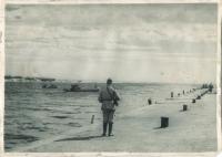 Устье реки Поронай. Сентябрь 1945 года