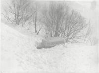 После схода снежной лавины. Тельновский перевал.