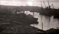 Порт города Холмска