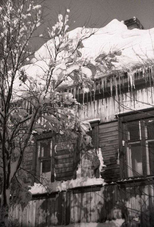 После снежного бурана.