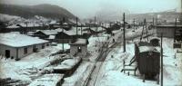 Железнодорожная станция в г. Томари