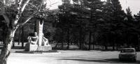 Обелиск дружба на месте будущей площади Славы