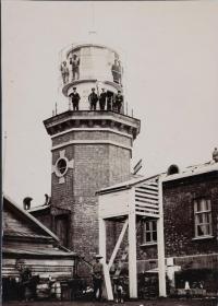 Крильонский маяк на острове Сахалин
