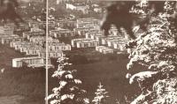 Вид с Горного Воздуха на микрорайон Черемушки, Южно-Сахалинск