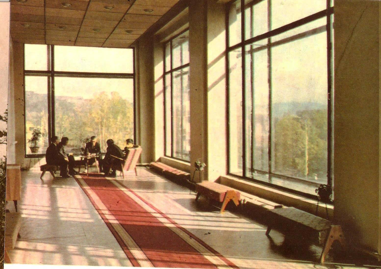 Внутри санатория 'Сахалин'