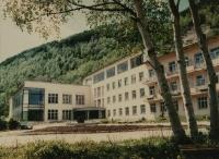 Санаторий 'Сахалин' Сахалинского областного совета расположен в живописной долине реки Синегорки, окружен сопками. В лечебных целях используются Синегорские минеральные источники и иловая грязь