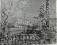 Вид на улицу Ленина со сквера в г. Оха