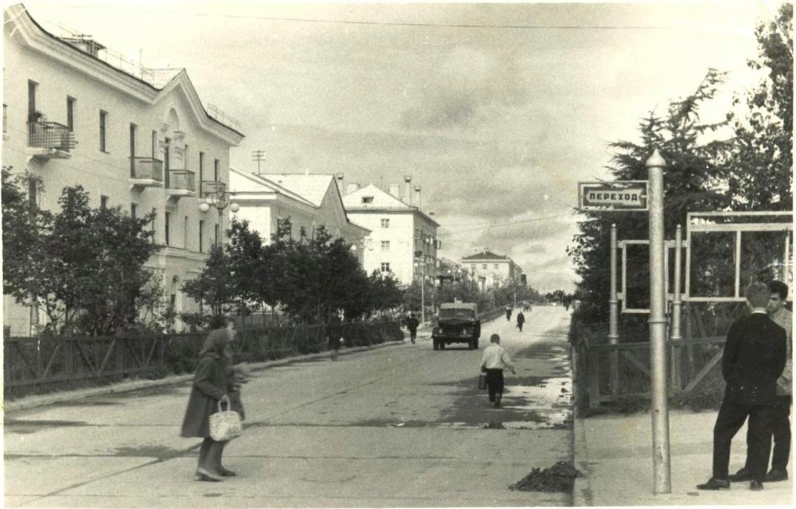 г. Оха ул. Ленина, Центральная районная библиотека.