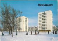 Высотки в г. Южно-Сахалинске