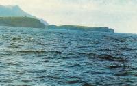 Мыс Край Света на острове Шикотан