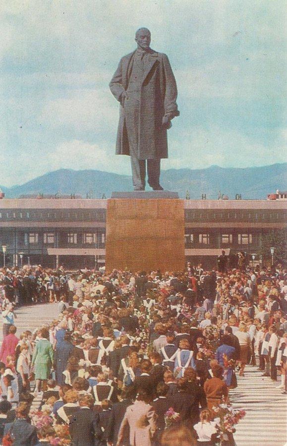 Площадь Ленина в Южно-Сахалинске