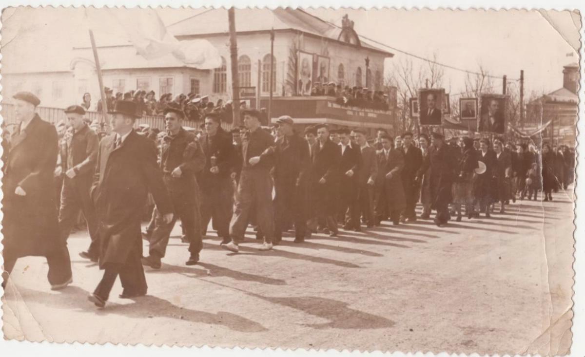 Первомайская демонстрация в г. Корсаков