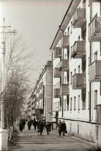 Улица Советская в г. Корсаков