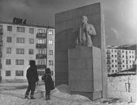 Памятник В.И. Ленину в пос. Правда