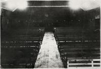 Общий вид зала кинотеатра 'Нефтяник', г. Оха