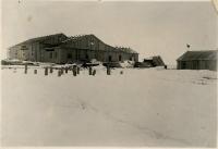 Строительство кинотеатра 'Нефтяник' в г. Оха
