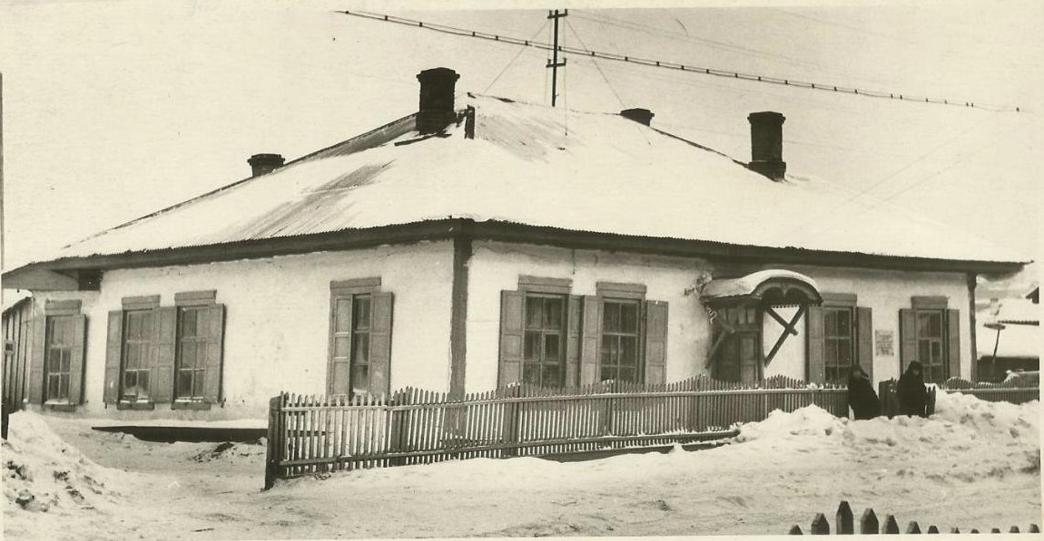 Дом в г. Александровске-Сахалинском, где снимал комнату А.П. Чехов