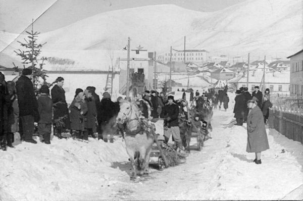 Праздник Русской зимы в п. Взморье