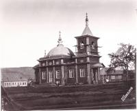 Вид церкви села Рыковское