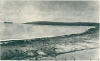Участок острова Шумшу, где происходила высадка десантного передового отряда