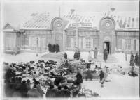 Приход зимней почты. Период с 1875 по 1906 год. Коллекция фотографий Краснова Ивана Николаевича