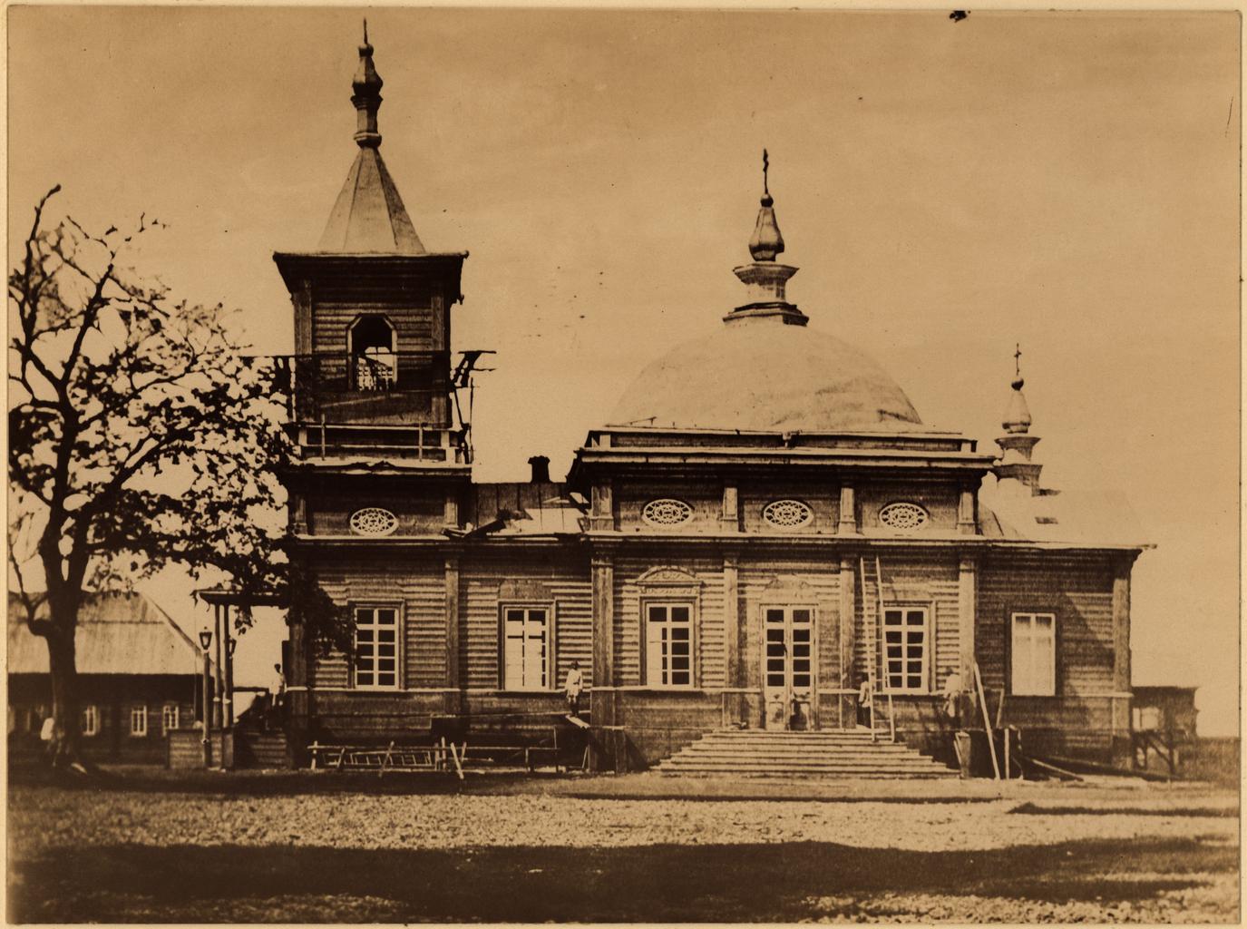 Церковь в селении Рыковском