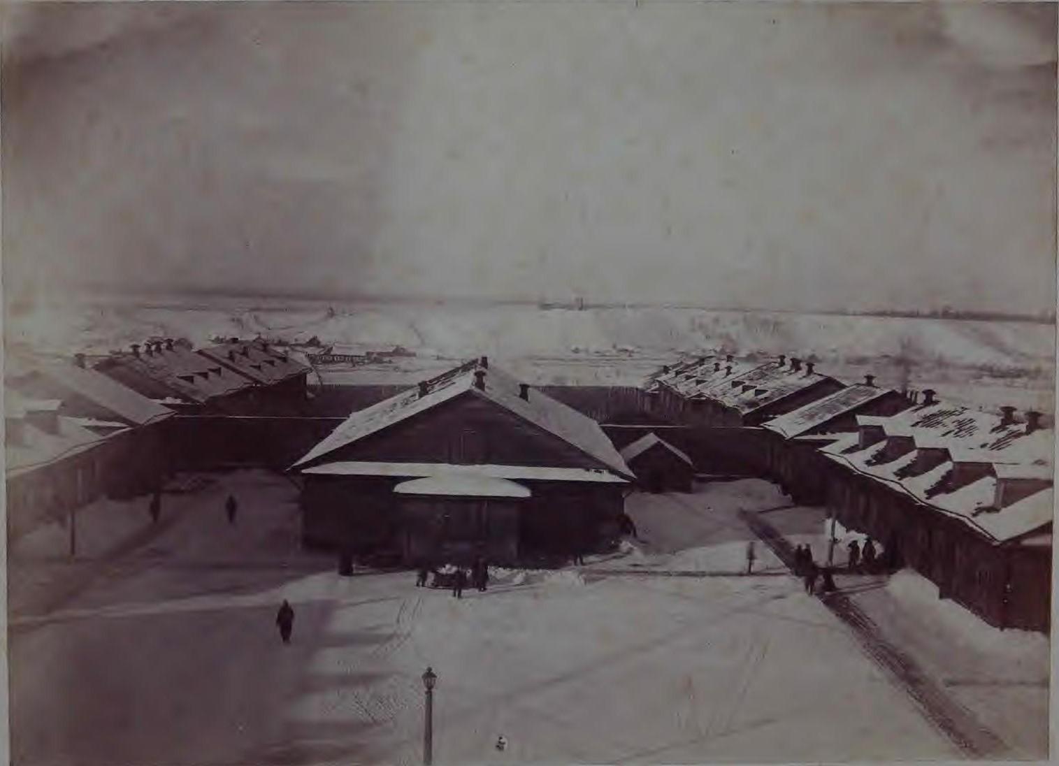 Тюрьма в посту Александровском