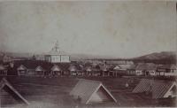 Магометанский молитвенный дом и базар в посту Александровском