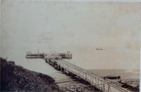 Морская пристань в посту Александровском