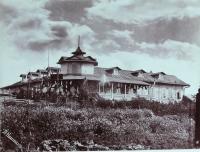 Вид дома начальника округа.