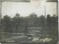 Здание Сахалинского Окружного Революционного комитета (бывший дом губернатора) с 1925 года. Сгорел в ночь 7 ноября 1935 года.