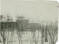 Здание облисполкома в г.Александровске-Сахалинском - бывший дом губернатора о.Сахалина