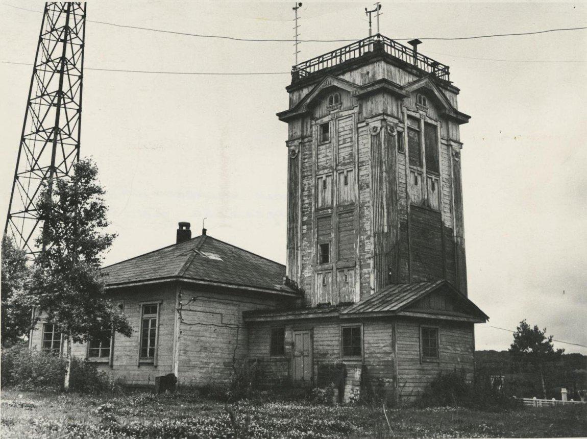 Здание японской метеостанции в Корсакове