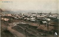 Панорамный вид на порт и город Хонто