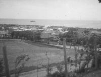Серия снимков. Вид на город Маока от начальной школы
